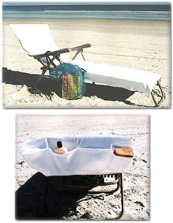 What A Great Idea A Beach Towel That Fits Over The Top Of Your Chair Also Has Pockets Genius Beach Towel Large Beach Towels Pretty Furniture