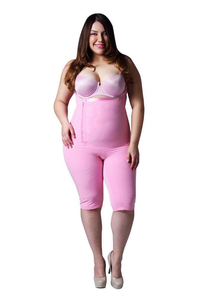 3987208c33 Shapewear Compression Garments, Post Surgical Garment Long Pink ...