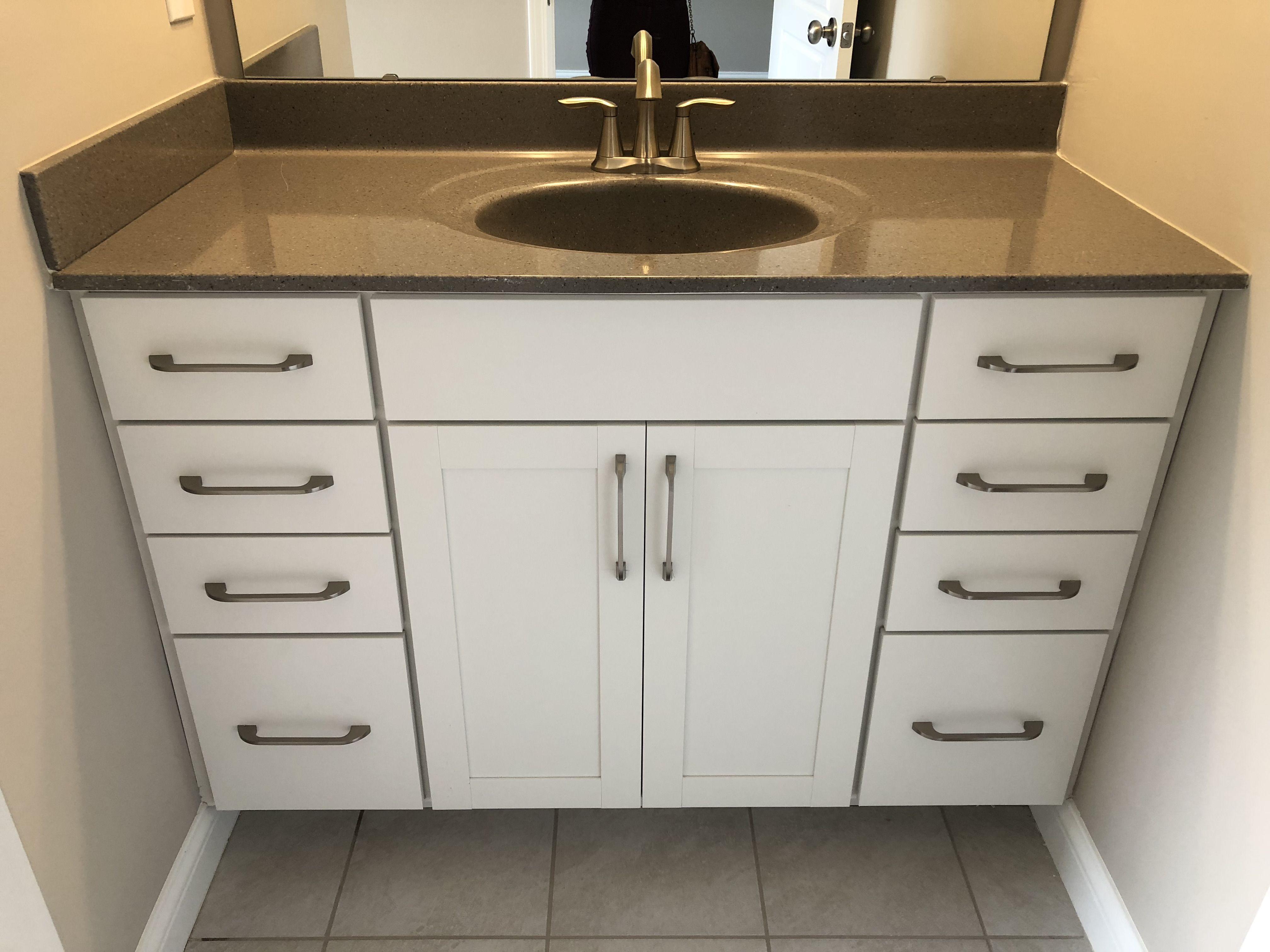 Brellin White Bath Vanity Cabinets Vanity Cabinet Vanity White Bath