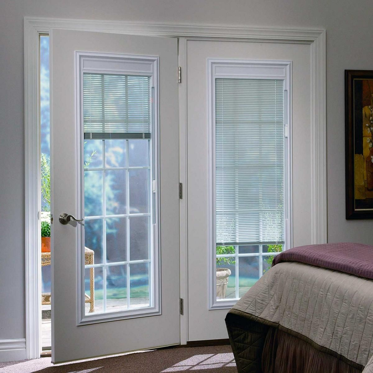 Odl Enclosed Blinds Built In Door Window Treatments For Entry Doors Shades For French Doors Blinds For French Doors Enclosed Blinds