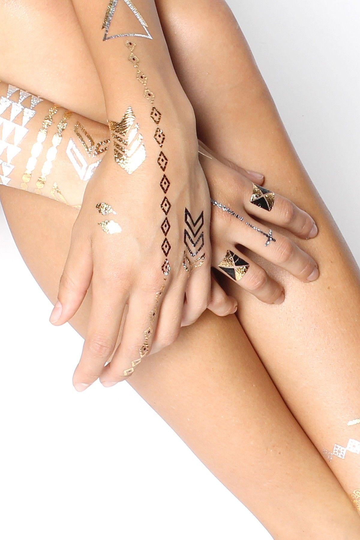 Tattoos for men ring infinite love temporary metallic tattoos  put it on  pinterest