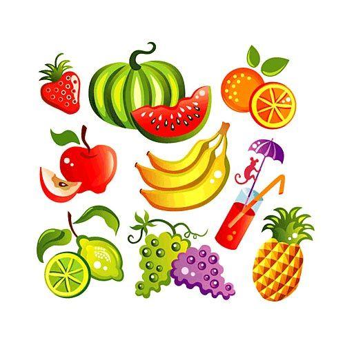 Dibujos de frutas y verduras a color - Imagui | frutas y vegetales ...