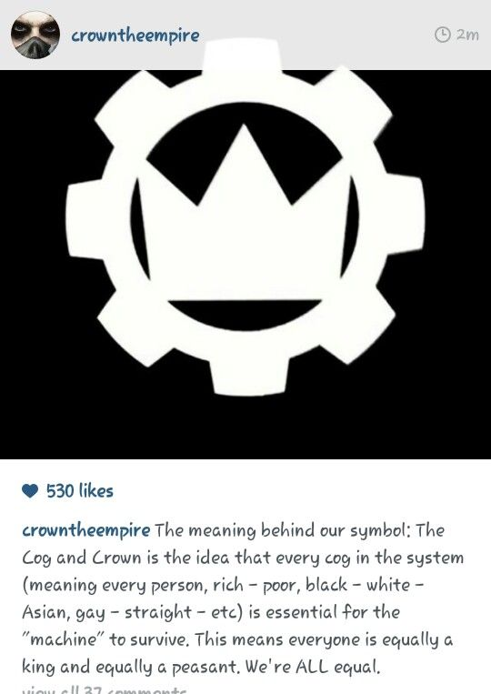 The Meaning Behind The Cog And Crown This Is Beautiful Crown