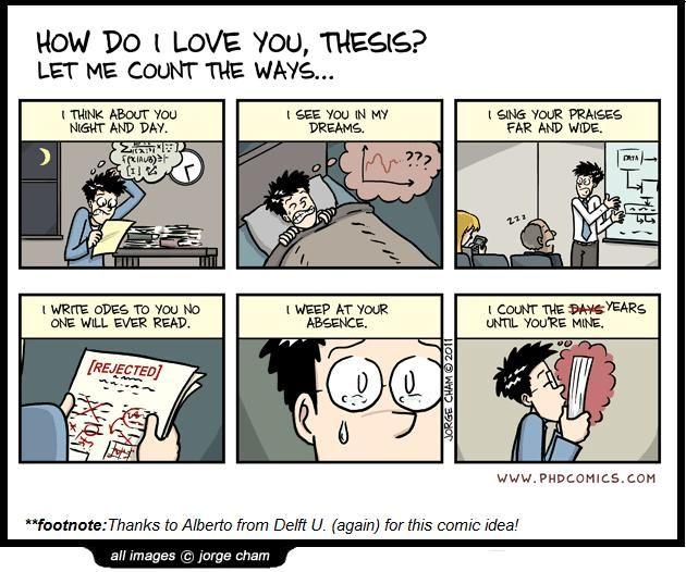 Dissertation phd comics