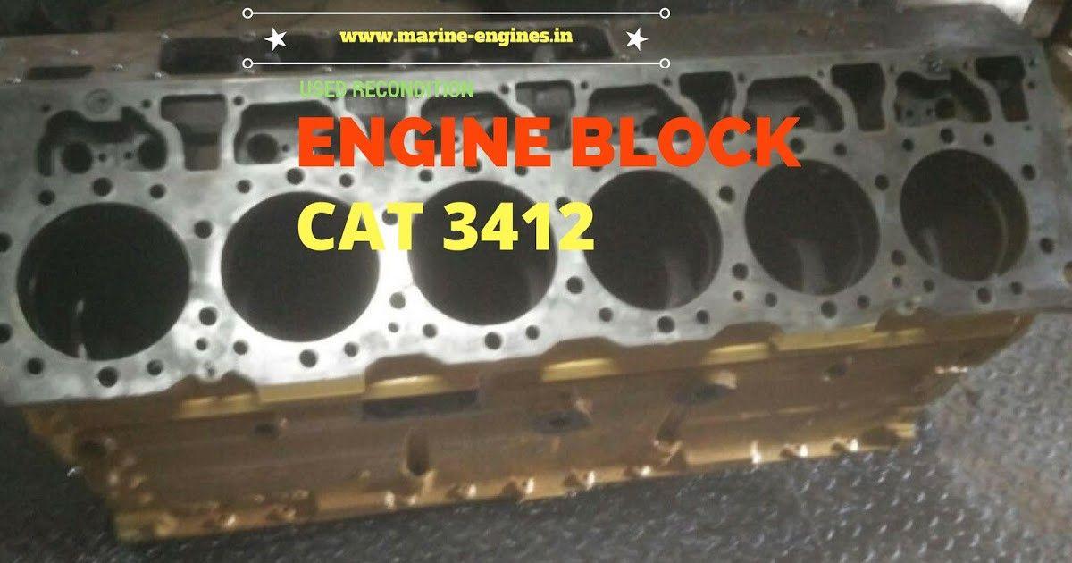 Cat 3412 motor engine parts supplier | Marine Motor | Engine block