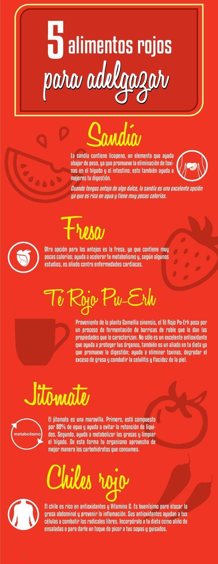 Alimentos Rojos Para Adelgazar El Fruto Para Bajar De Peso Y  ~ Dieta Adelgazamiento Saber Vivir