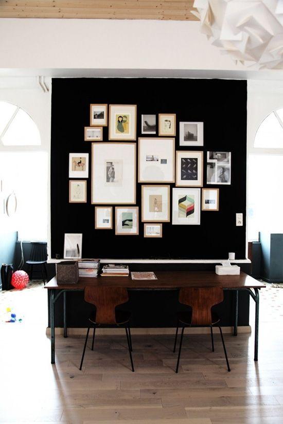 Dark Walls At Home In Love Home Decor Interior Black Walls