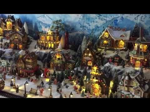 Comment Construire Son Village De Noel Anime Cadeau Malin Gifi Youtube Village De Noel Village De Noel Miniature Noel Miniature