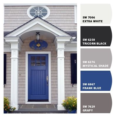 Check Out These Colors I Just Snapped Cottage Front Doors Front Door Paint Colors Painted Front Doors