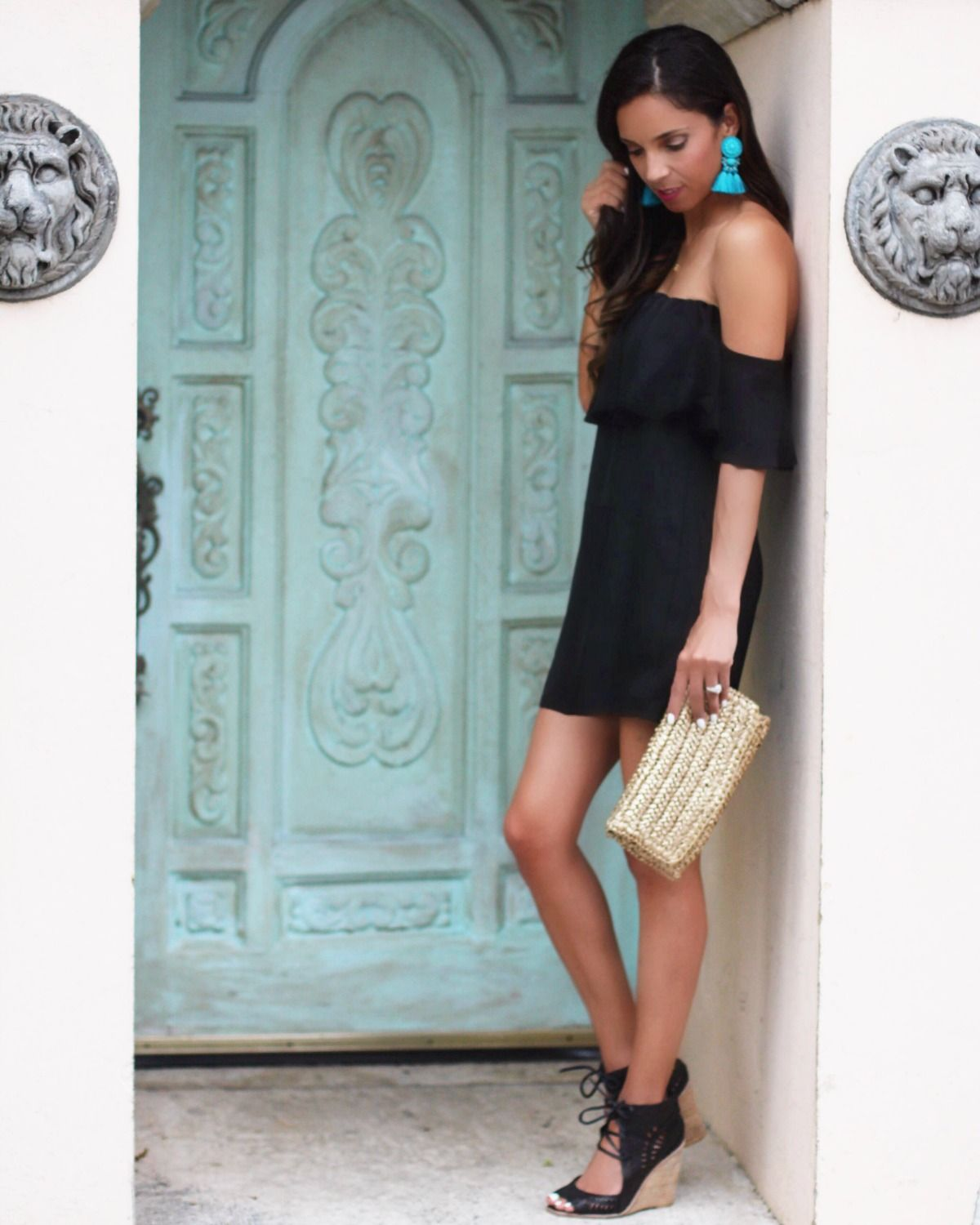 Enchanting Accessories For Black Cocktail Dress Adornment - All ...