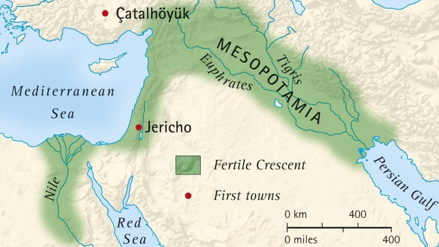 Tigris Y Eufrates Mapa.Mesopotamia Significa Entre Dos Rios Este Territorio