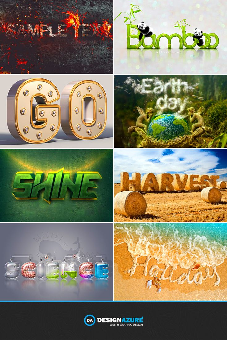 Step out of your shell with these super cool text effect tutorials step out of your shell with these super cool text effect tutorials baditri Choice Image