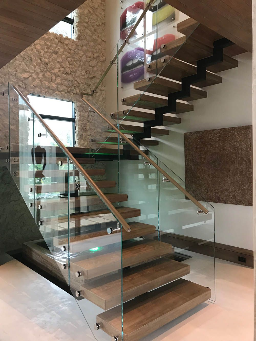 Best Image Result For Bronze And Glass Modern Stair Railing 400 x 300
