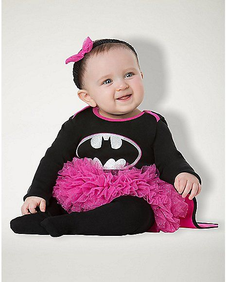 Baby Pink and Black Caped Batgirl Costume - Batman - Spenceru0027s  sc 1 st  Pinterest & Baby Pink and Black Caped Batgirl Costume - Batman - Spenceru0027s ...