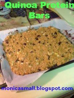 Healthy, Fun, and Fit: Quinoa Protein Bars