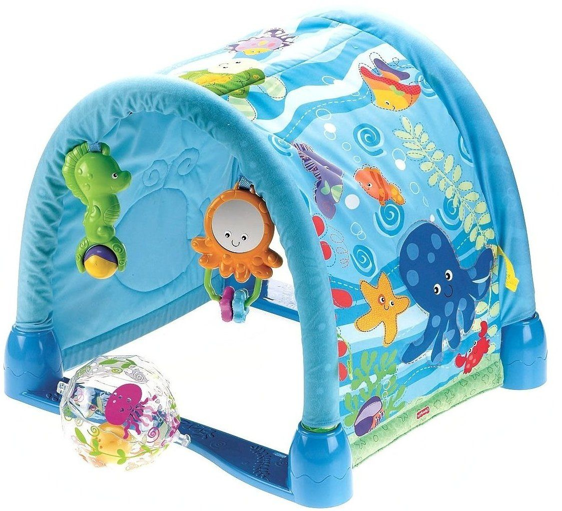 Fisher Price- Kick And Crawl Gym Fisher Price - Activity Stations ...