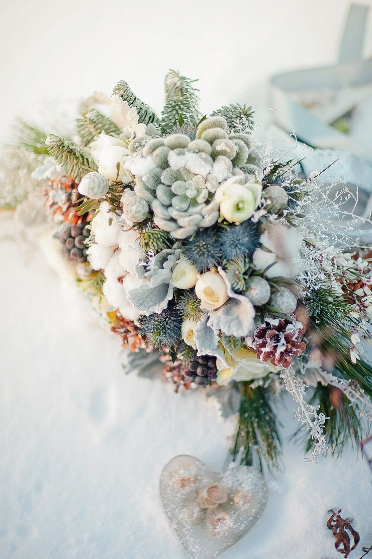 Light Blue Wedding Dress Muted Grays And Blues For An Outdoor Winter Wedding Shoot In The Snow