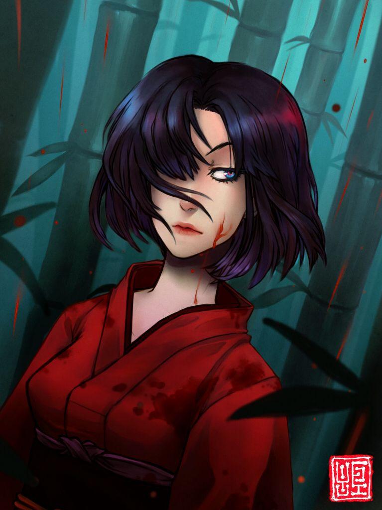 Shiki - Megumi - Version 01 by BC6 on DeviantArt