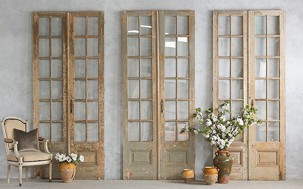 love old vintage french doors ~ from TG interiors - Love Old Vintage French Doors ~ From TG Interiors Vintage Doors