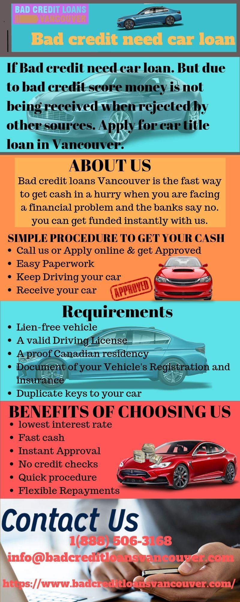 If Bad Credit Need Car Loan But Due To Bad Credit Score Money Is