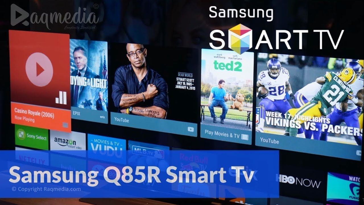 Samsung Q85R Smart Tv Review Tv reviews, Smart
