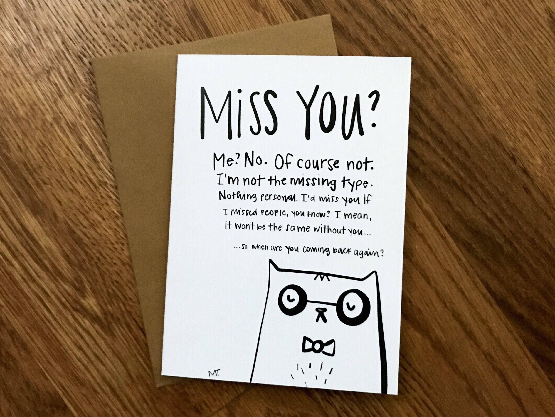 Printable Grumpy Cat Goodbye Greeting Card Sassy Leaving Moving