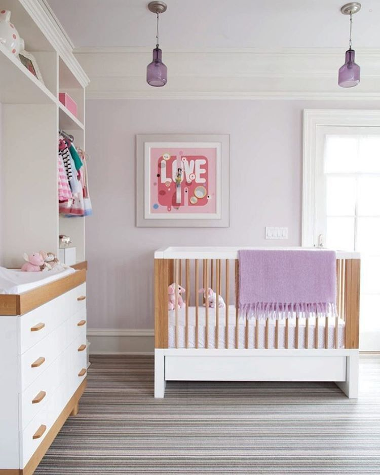 How adorable is this modern nurseryCredit to
