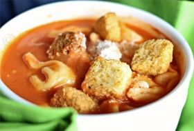 Creamy Tomato Tortellini Soup ...