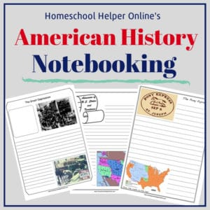 Photo of American History Notebooking Pages – Homeschool Helper Online