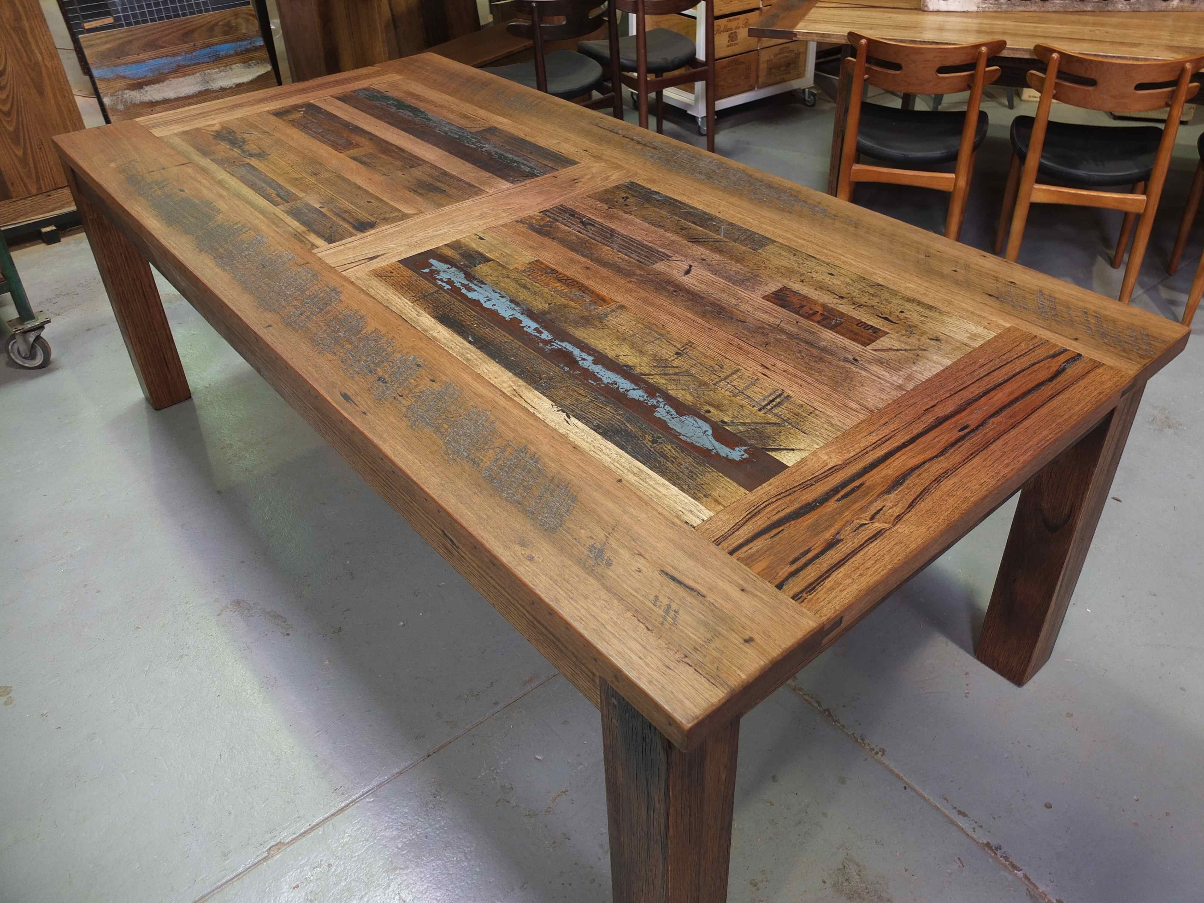 Recycled Timber Furniture Dining Tables
