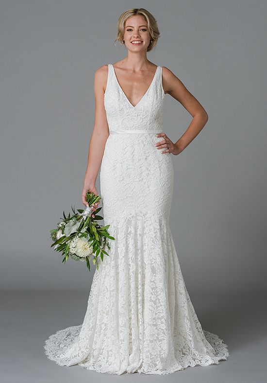 Mysteria Style 8180 Fit Flare Wedding Dress Wedding