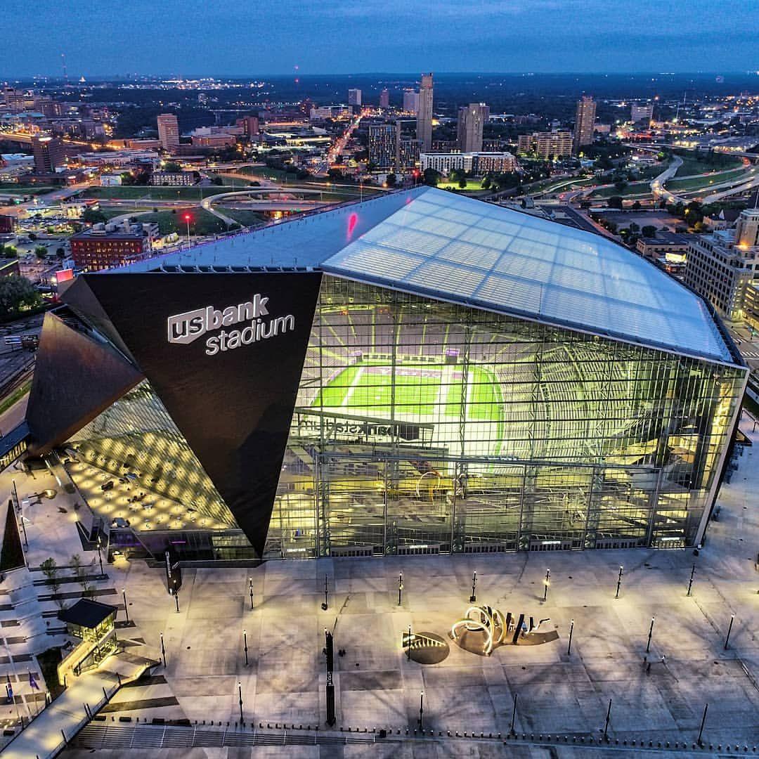 Us Bank Stadium Minneapolis Minnesota Vikings Stadium Minnesota Vikings Stadium Minnesota Vikings Football