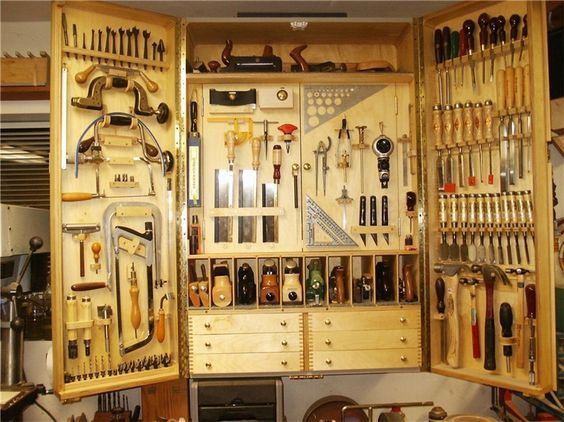 Quick To Make Tool Cabinet In 2019 Woodworking Tool