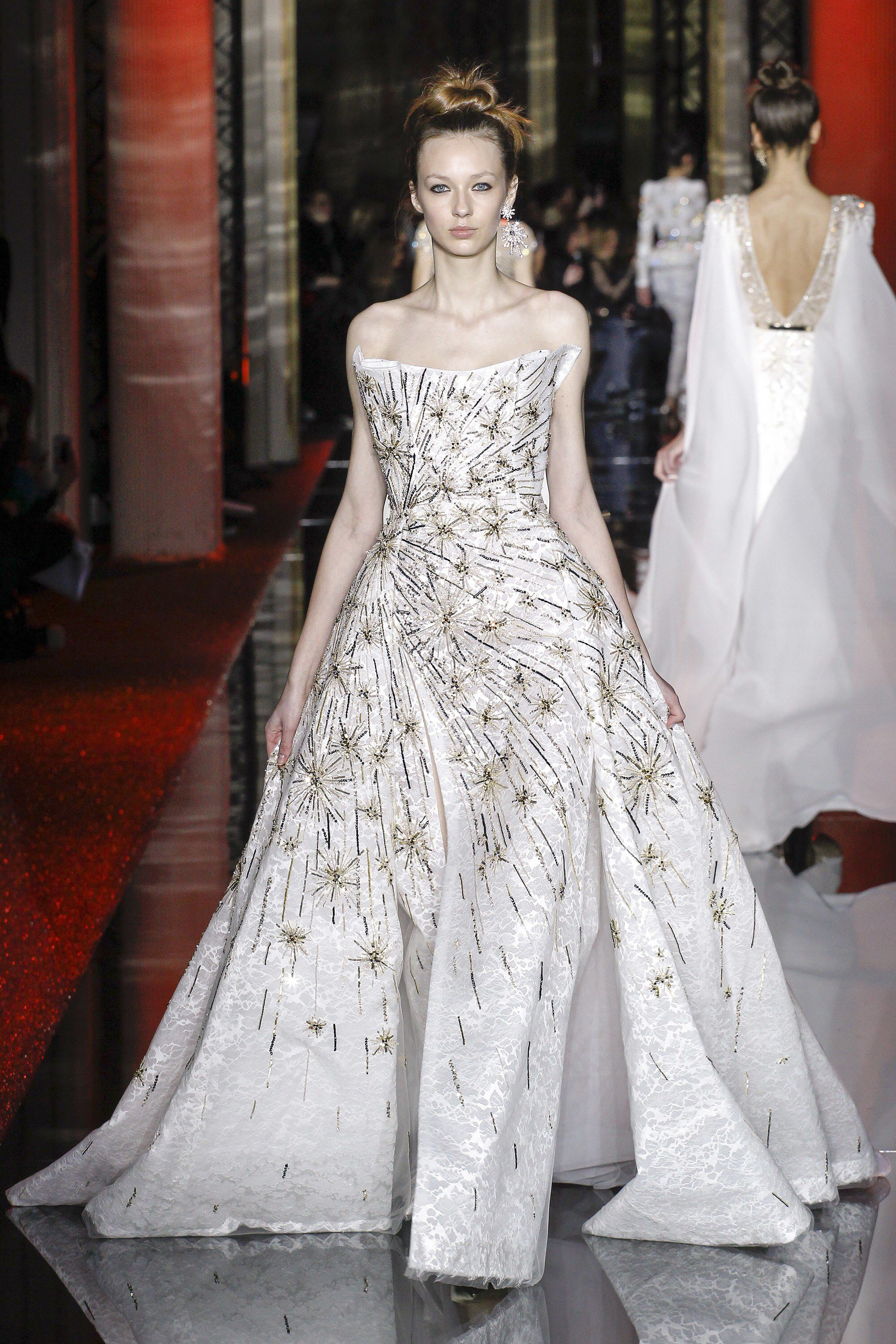 Zuhair murad spring couture fashion show sees and spring