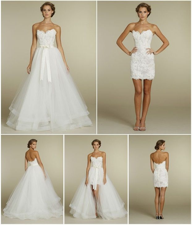 Vestidos de novia desmontables comprar