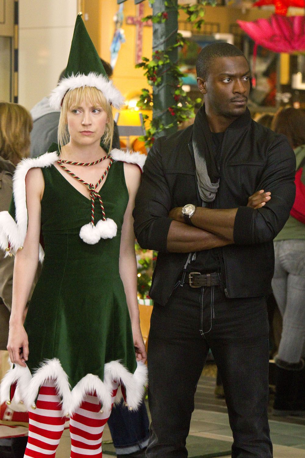 Beth Riesgraf And Aldis Hodge