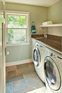 Urban Infill - traditional - Laundry Room - Austin - CG&S Design
