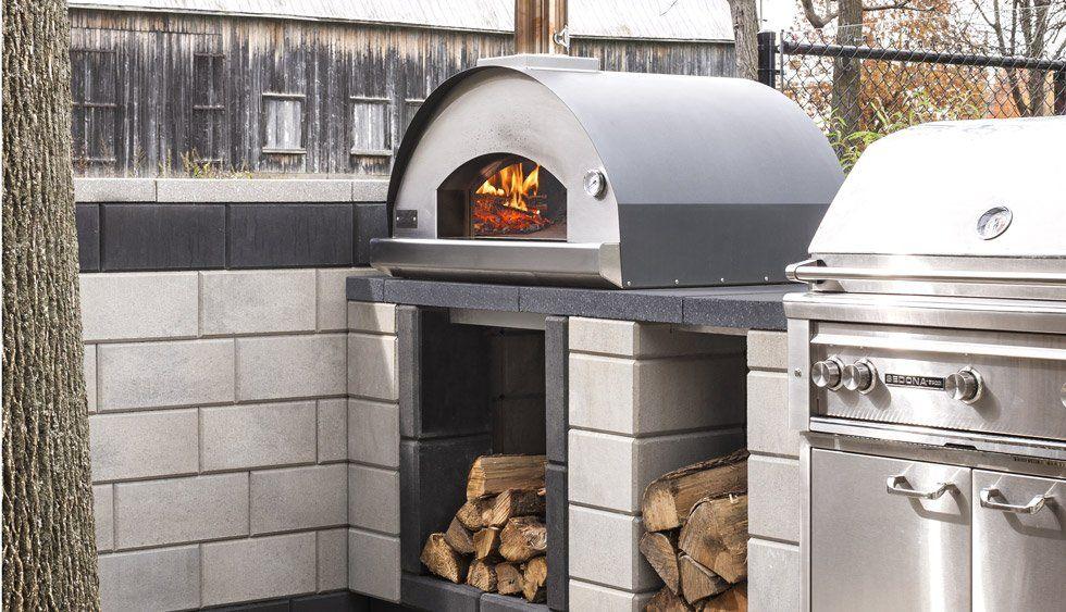 Raffinato Pizza Oven Techo Bloc Pizza Oven Outdoor Kitchen Outdoor Gas Pizza Oven Pizza Oven