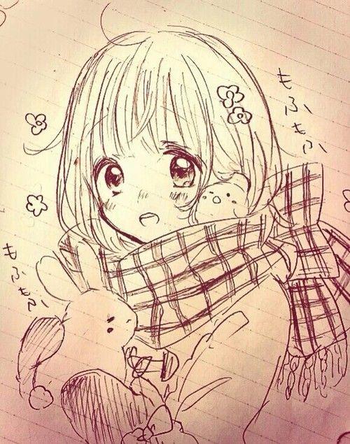 Ruang Belajar Siswa Kelas 6 Anime Drawings Colored