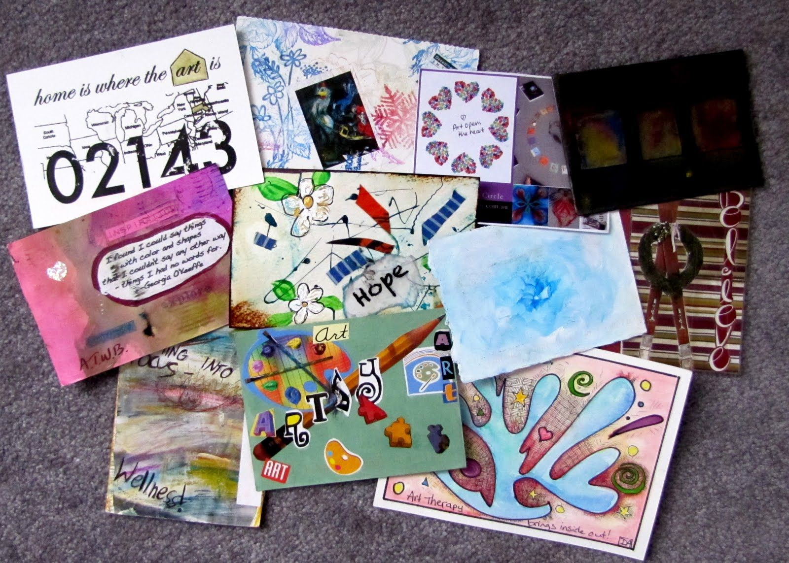 Pin On Awbw Art Therapy Surviving Domestic Violence