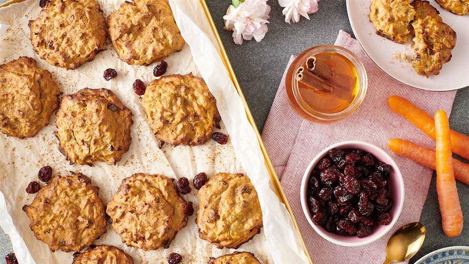 Ciasteczka Marchewkowo Bananowe Przepis Recipe Recipes Food Desserts