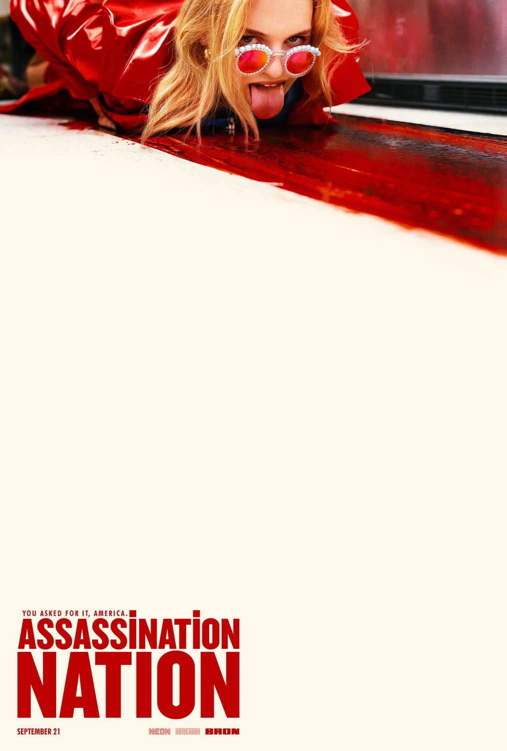 New official assassination nation movie poster movie