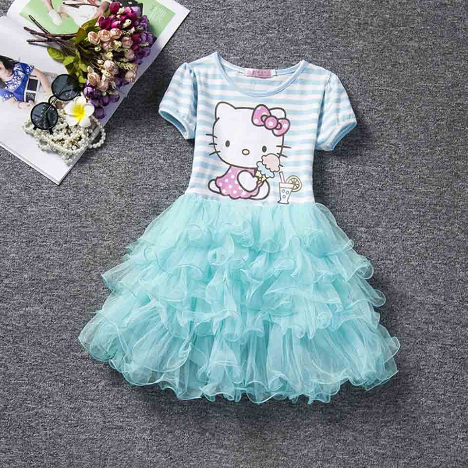 9ead5eb48bc4 so cheap 2d5af 5fbe4 hello kitty baby casual dresses infant floral ...