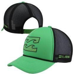 4d5fc40224039 Billabong Amped Adjustable Trucker Hat - Lime Deals on  Surf Fanatics - Billabong  Mens Legendary