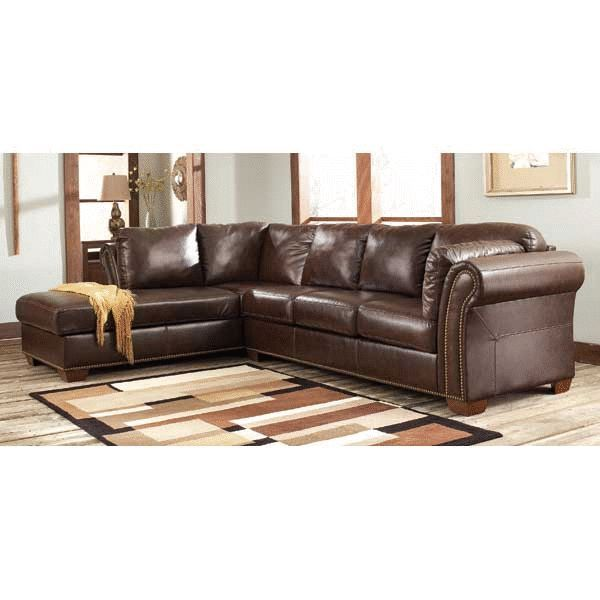 Superbe Marlo 2PC Sectional With Left Chaise $699 AFW #http://www.afwonline