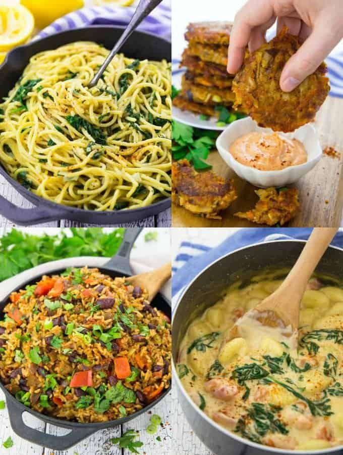 15 Vegane Gerichte für unter der Woche | gesund und lecker ...