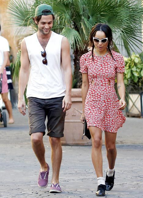 Penn badgley dating zoe kravitz