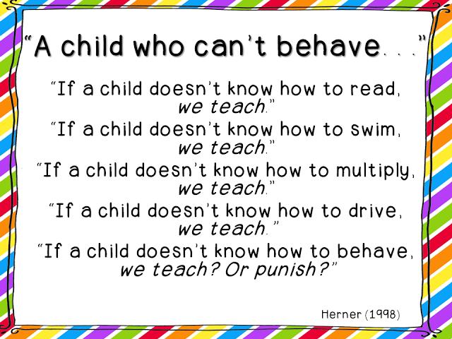 Quotes On Behaviour Management