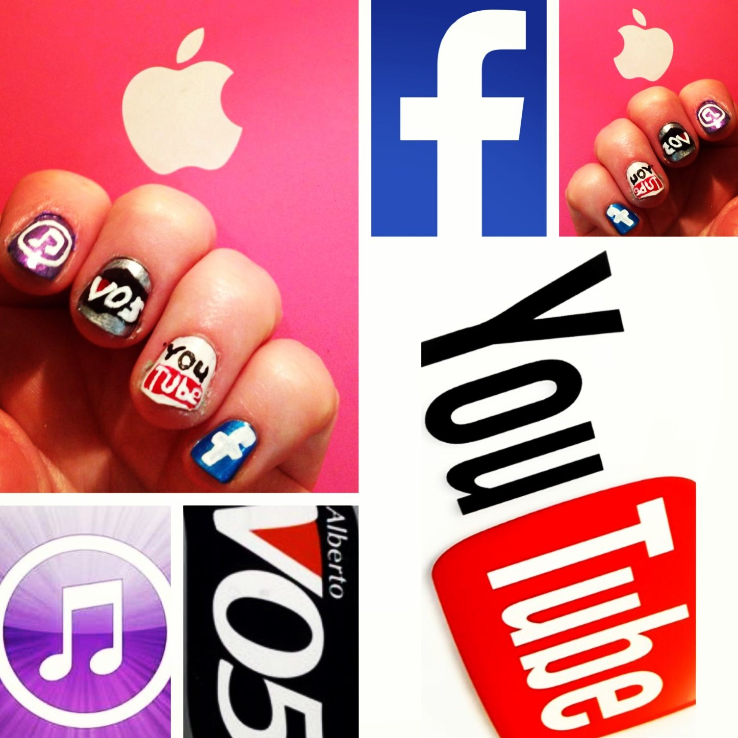 Logo Nail Art Nail logo, Nails inspiration, My nails