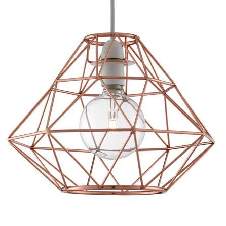 Distinctly Designed In A Modern Style This Copper Pendant Will Instantly Update Your Living